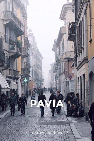 PAVIA e la Provincia Pavese