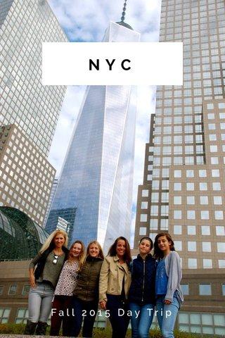 NYC Fall 2015 Day Trip