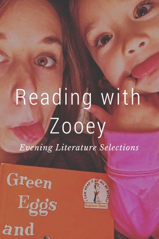 Reading with Zooey Evening Literature Selections