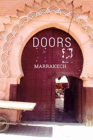 DOORS MARRAKECH