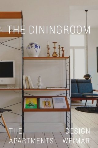 THE DESIGN APARTMENTS WEIMAR THE DININGROOM
