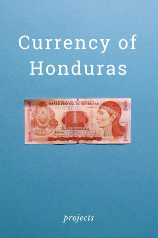 Currency of Honduras projects