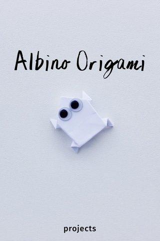 Albino Origami projects