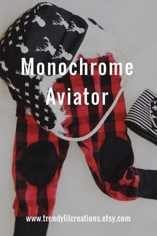 Monochrome Aviator www.trendylilcreations.etsy.com