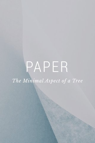 PAPER The Minimal Aspect of a Tree