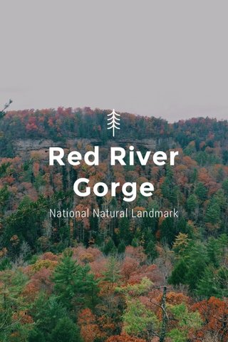 Red River Gorge National Natural Landmark