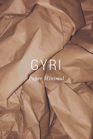 GYRI Paper Minimal