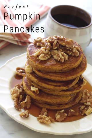 Pumpkin Pancakes Perfect