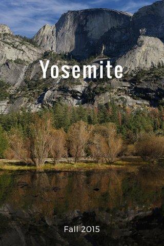 Yosemite Fall 2015