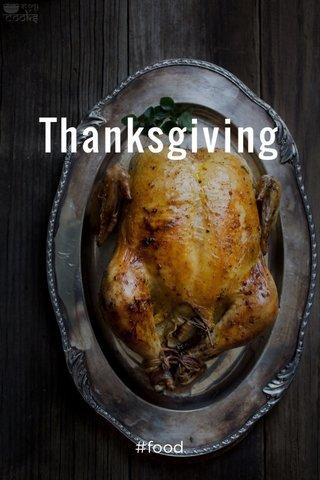 Thanksgiving #food
