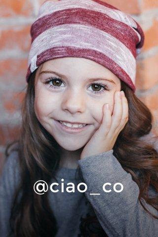 @ciao_co