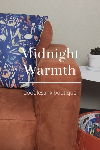 Midnight Warmth |doodles.ink.boutique|