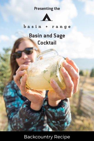 Backcountry Recipe
