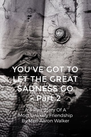 YOU'VE GOT TO LET THE GREAT SADNESS GO - Part 2 A 3-Part Story Of A Most Unlikely Friendship By Meri Aaron Walker