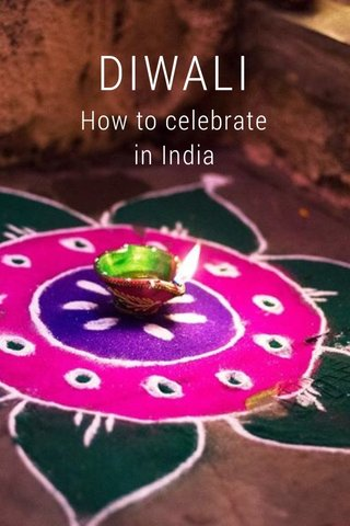 DIWALI How to celebrate in India
