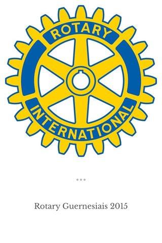 Rotary Guernesiais 2015