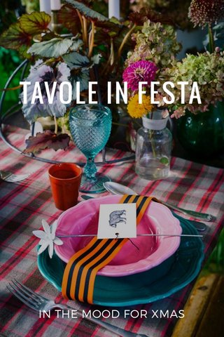TAVOLE IN FESTA IN THE MOOD FOR XMAS