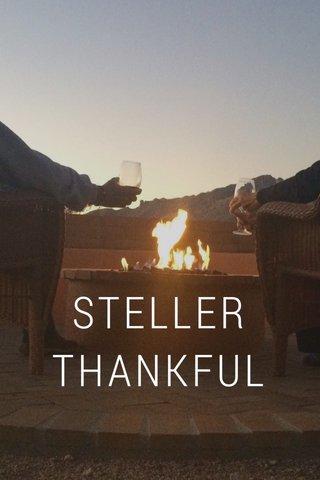 STELLER THANKFUL
