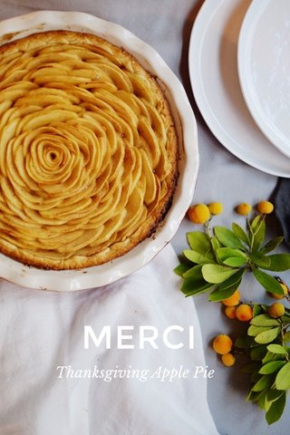 MERCI Thanksgiving Apple Pie