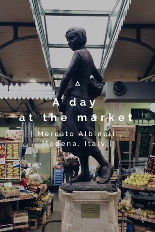 A day at the market | Mercato Albinelli, Modena, Italy |