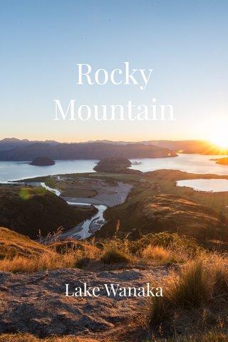 Rocky Mountain Lake Wanaka