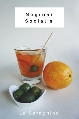 Negroni Social's La Saraghina