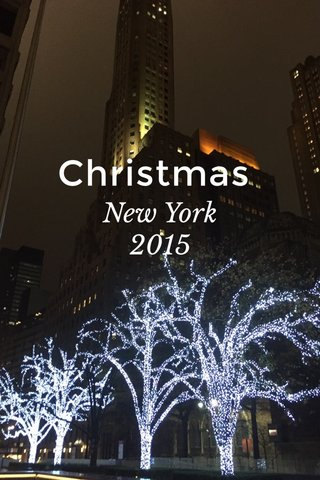 Christmas New York 2015