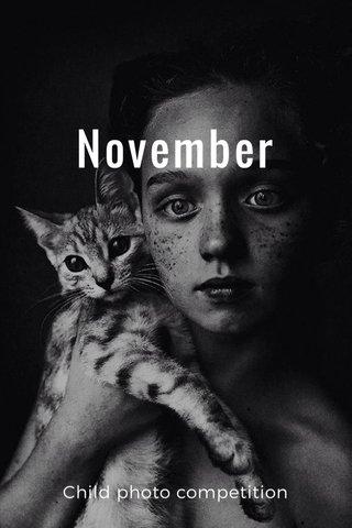 November Child photo competition