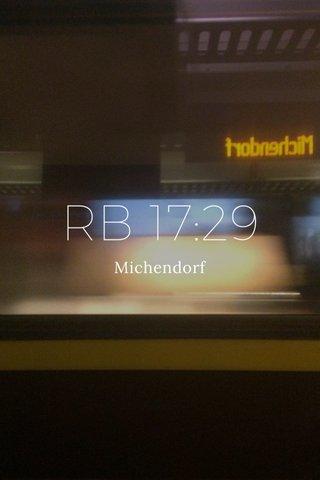 RB 17:29 Michendorf