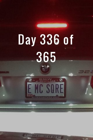 Day 336 of 365