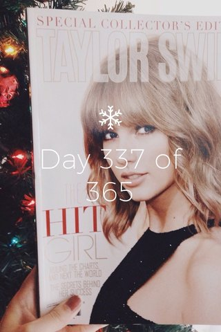 Day 337 of 365