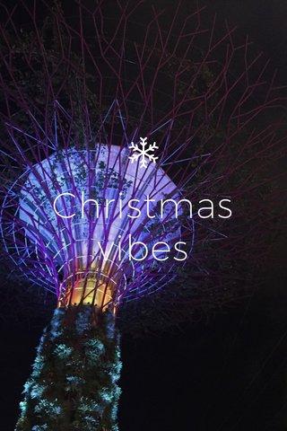 Christmas vibes
