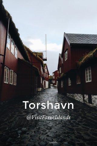 Torshavn @VisitFaroeIslands