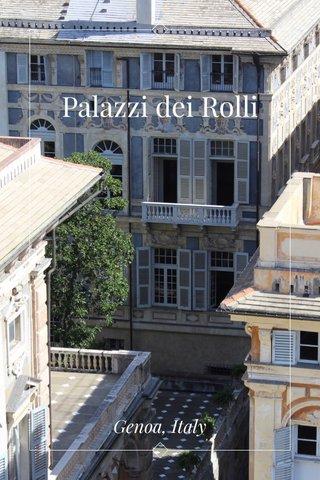 Palazzi dei Rolli Genoa, Italy