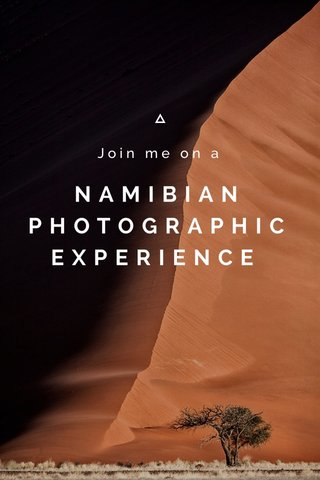NAMIBIAN PHOTOGRAPHIC EXPERIENCE Join me on a