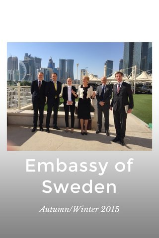 Embassy of Sweden Autumn/Winter 2015