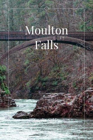 Moulton Falls Amelia Schley