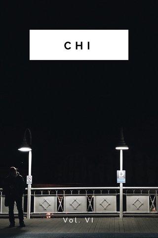 CHI Vol. VI