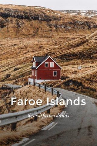 Faroe Islands @visitfaroeislands