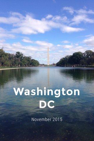 Washington DC November 2015