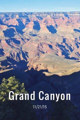 Grand Canyon 11/21/15
