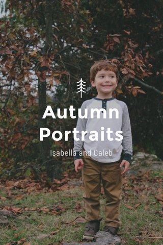 Autumn Portraits Isabella and Caleb