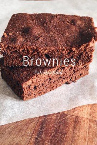 Brownies #stellerfood