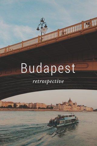 Budapest retrospective