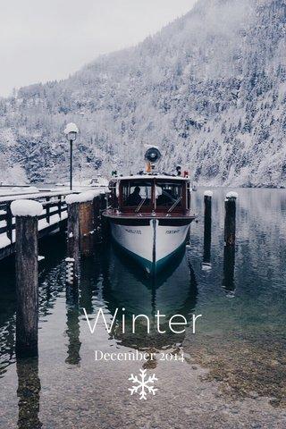 Winter December 2014