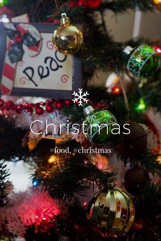 Christmas #food, #christmas