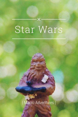Star Wars | Macro Adventures |