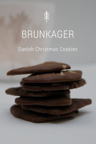 BRUNKAGER Danish Christmas Cookies