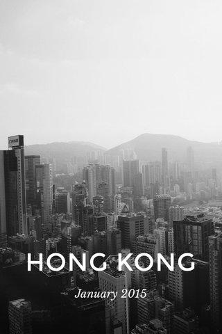 HONG KONG January 2015