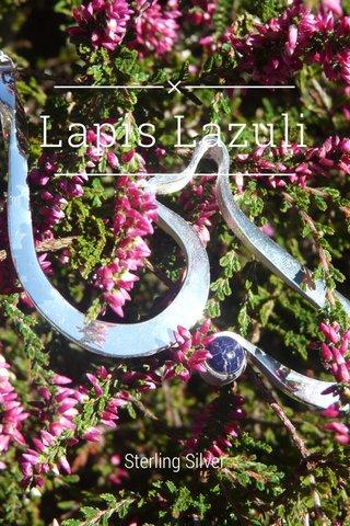 Lapis Lazuli Sterling Silver